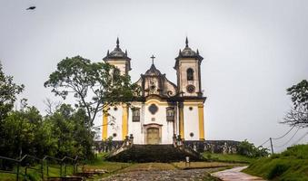 Sao Francisco De Paula Church ,ouro preto in brazil photo