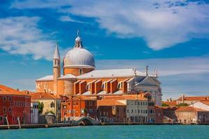 Church Il Redentore on Giudecca, Venice, Italia photo