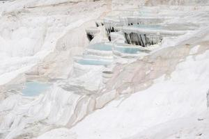 Pamukkale, or cotton castle, is in Nevsehir Province, southwestern Turkey photo