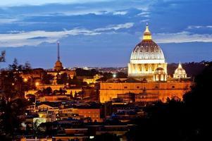 Vatican at evening