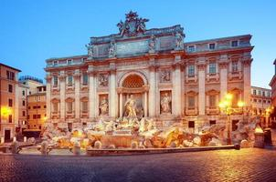 Trevi Fountain, Rome - Italy,