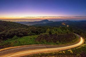 sunrise at doi Intranon
