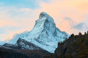 pico de Cervino, Zermatt, Suiza