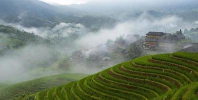 Longsheng terraced photo