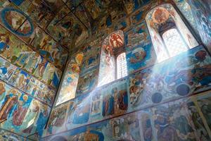Inside Church of St. John the Evangelist in Rostov Kremlin