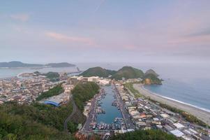 Suao Harbor in Taiwan photo