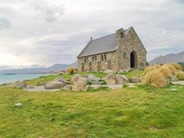 Church of the Good Shepherd near lake Tekapo