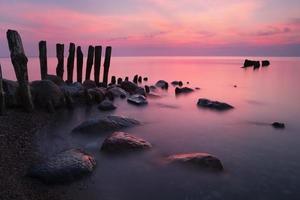 Evening on Baltic photo