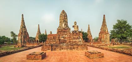 Wat Chaiwatthanaram. Panorama