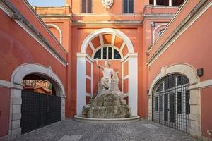 fountain at Palazzo Barberini