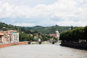 beautiful view from the bridge of Verona