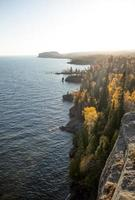 Silver Bay cliffs in Minnesota