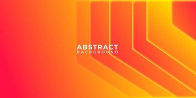 Geometric Orange Yellow Shape Abstract Background