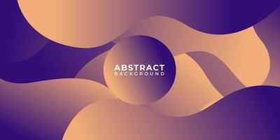 Geometric Purple Fluid Shape Abstract Wave Background