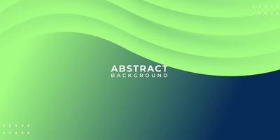 Green Blend Fluid Abstract Wave Background vector