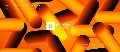 forma de cápsula fondo abstracto geométrico vector