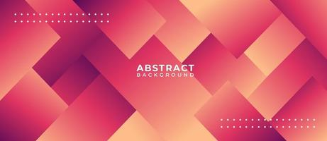 Geometric Orange Pink Shape Abstract Background