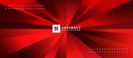 Red Prism Shape Abstract Background