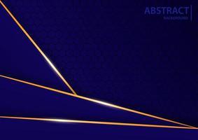 fondo abstracto con azul y oro claro