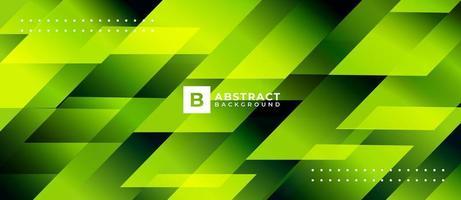 Fondo abstracto de forma geométrica verde vector