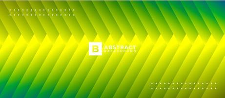 Gradient Neon Green Yellow Shape Abstract Background