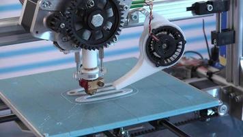 impresora 3d de trabajo video