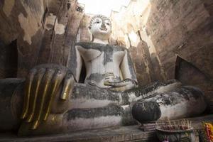 Ancient Buddha Statue in Thailand, World Heritage photo