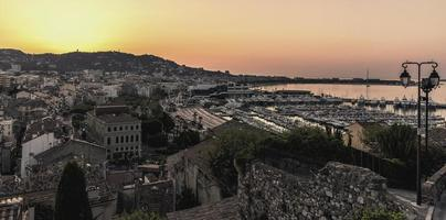 Cannes at sunrise, Côte d'Azur, France