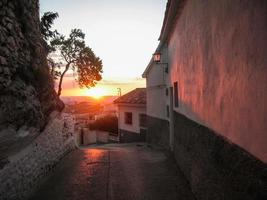 Sunset at Iruela, Andalusia, Spain