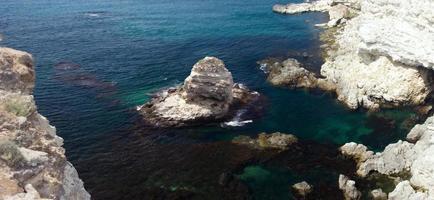 Crimean cliffs view photo