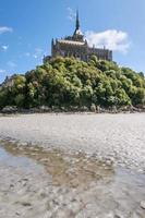Mount St Michel in Normandy photo