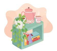 Cozy home interior composition