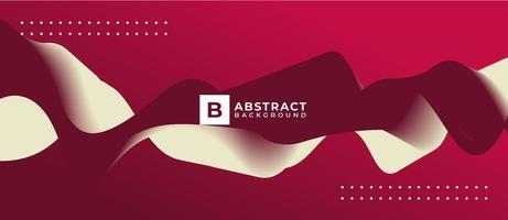 Fondo abstracto de onda de giro blanco rojo vector