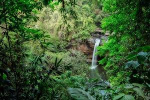 The Haew Suwat waterfall
