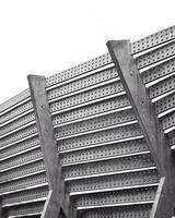 Metal building material