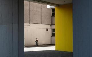 escena de la ciudad minimalista