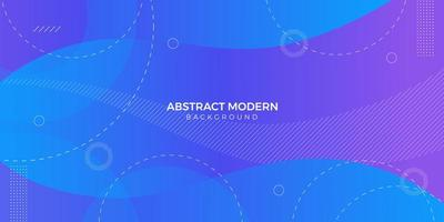 Abstract Shape Blue and Purple Gradient Modern Background vector