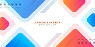 Stylish Abstract Modern Geometric Shapes Design vector