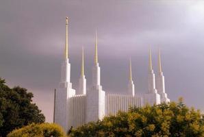 templo mormón en dc foto