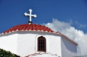 Lindos church.
