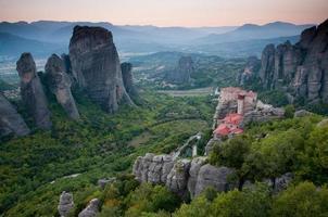 Meteora monasteries photo