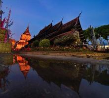 Thai north temple. photo