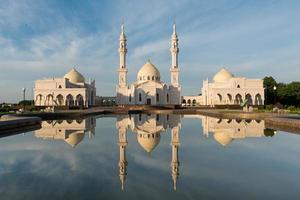 """White"" mosque in Bolgar city photo"