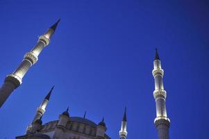 torri e moschea photo