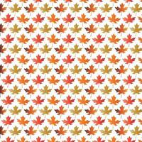 Gradient maple leaf pattern