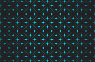 Glowing Blue Star Pattern vector