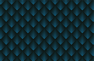 Geometric layered shapes with stripes pattern vector