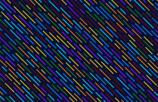 Colorful Diagonal Lines Pattern