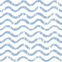 Aqua blue textured stripes wavy water pattern