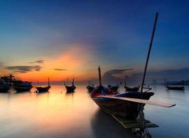 el barco de pesca, tailandia foto